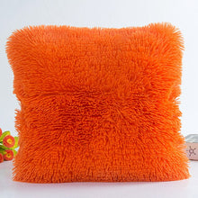 Load image into Gallery viewer, 43X 43cm Soft Plush Faux Fur Decorative Cushion Pillowcase Throw Pillow Covers For Hotel Home Sofa Car Chair Decor Wholesale