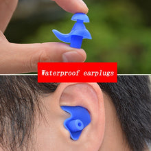 Load image into Gallery viewer, Soft Earplugs Silicone Waterproof Earplug Dust-Proof Ear Environmental Sport Plugs Diving Water Sports Swimming Pool Accessories