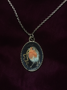 European Robin Pendant - On Sale