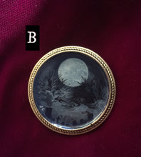 Load image into Gallery viewer, Haunting Moon Pin