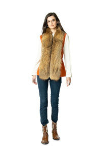 Double D Ranch Hondo Vest in Shasta Orange 6Whiskey Nashville Fall 2020 V961