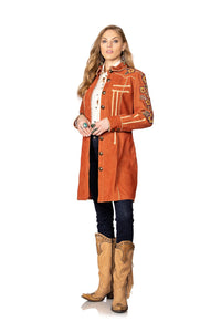 Double D Ranch North Platte Coat in Shasta 6Whiskey C2720 Cody Fall collection 2020