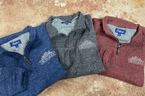 Oxford Crawford 1/4 Zip Fleece Pullover 6Whiskey Fall 2020