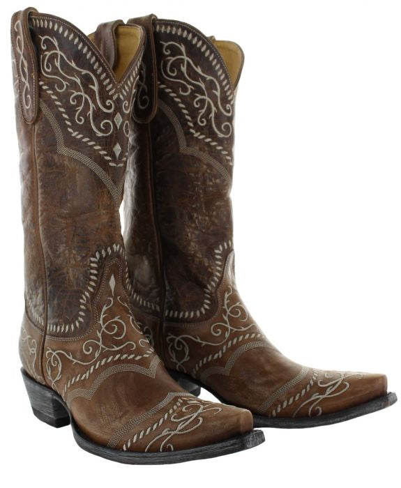 Old Gringo Classic Brown Sintra Cowboy Boot 6 Whiskey