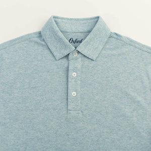 Hadley Performance Polo in Blue Heather 6 Whiskey six whisky