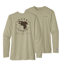 Load image into Gallery viewer, Over Under Performance Timber Tech long sleeve 6whiskey tan men's bobwhite