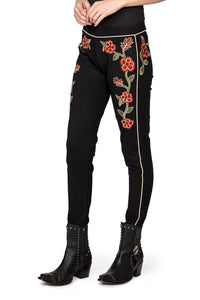 Double D Ranch Black Jeggings in North Platte 6Whiskey Cody Fall Collection P474