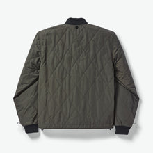 Load image into Gallery viewer, Filson jacket back view 6Whiskey Drk olive green warm