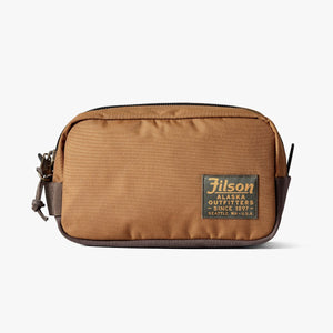 Filson travel kit in whiskey brown at 6Whiskey