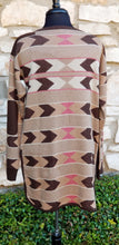 Load image into Gallery viewer, Tasha Polizzi ~ Pullover ~ Alta Blanket 6 Whiskey six whisky cowboys indians