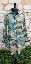 Load image into Gallery viewer, Tasha Polizzi ~ Four Corners Tunic 6 Whiskey six whisky