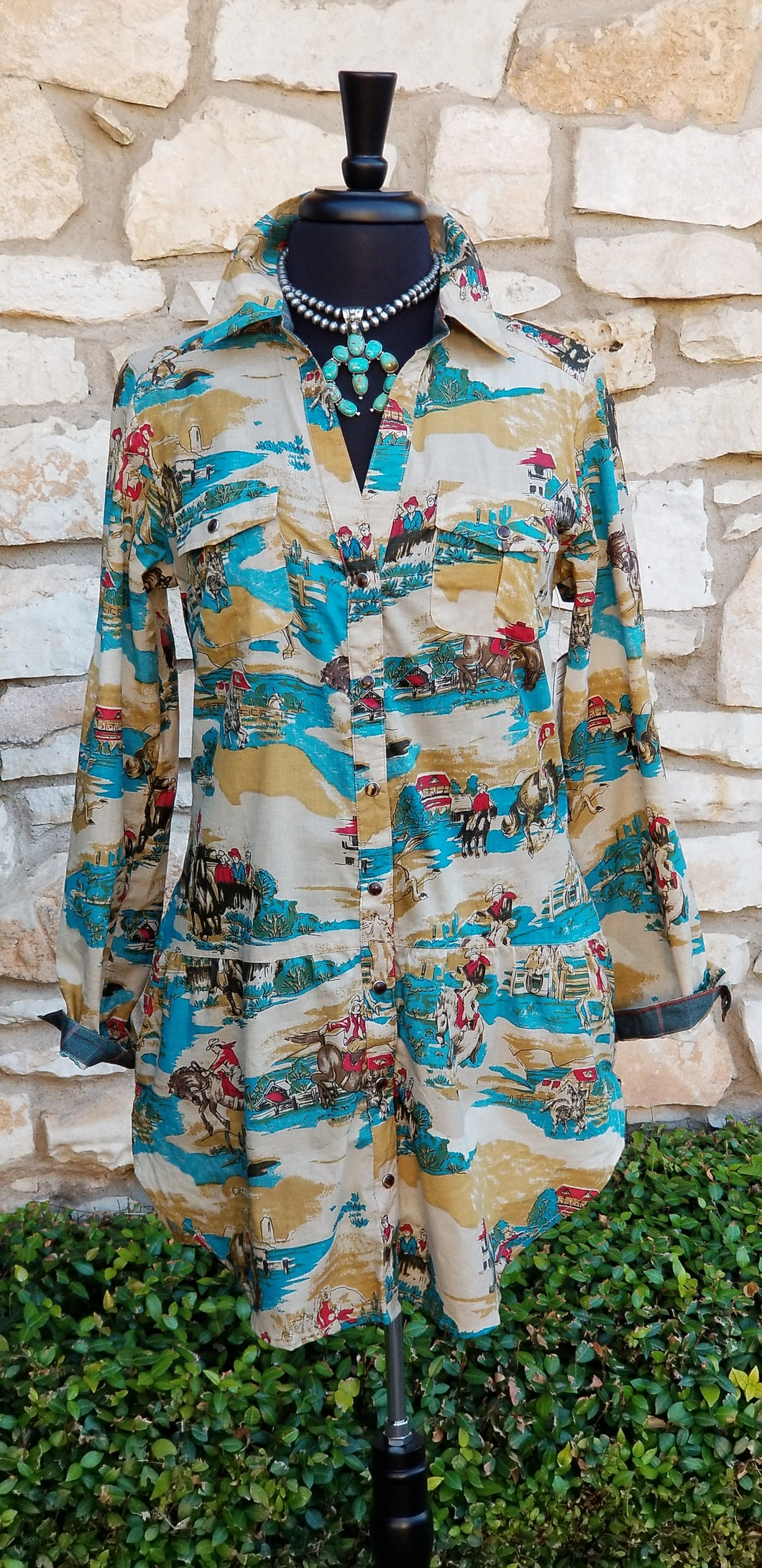 Tasha Polizzi ~ Four Corners Tunic 6 Whiskey six whisky