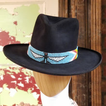 Load image into Gallery viewer, HATS Arizona Highway Felt Hat in Skystone or Black by Double D Ranch DD Ranch 6 Whiskey six whisky