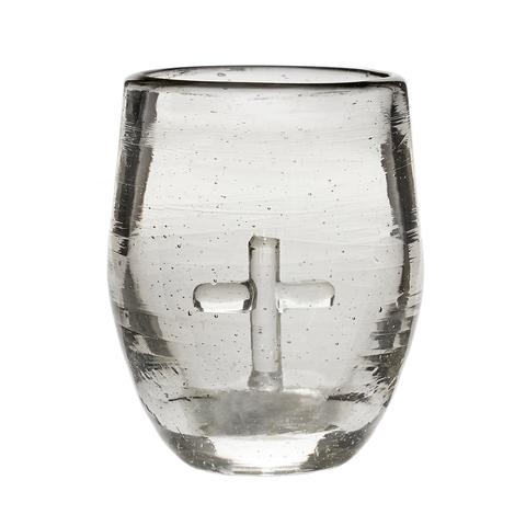 Jan Barboglio cross shot glass bendicion 6 whiskey six whisky bar tequila
