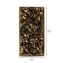 Load image into Gallery viewer, Shoe Parts Wood Wall Art 6Whiskey Measurements