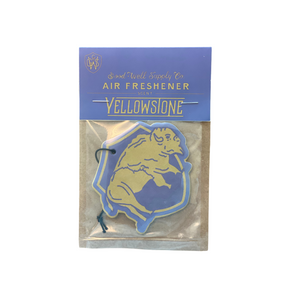 Yellowstone National Park Air Freshener 6Whiskey Good & Well Co. made in USA