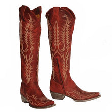 Load image into Gallery viewer, Old Gringo Tall Red Mayra Boot 6Whiskey