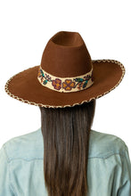 Load image into Gallery viewer, DDR Felt Showman Hat in bay brown FA794 Fall Cody Collection at 6Whiskey six whisky