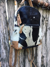 Load image into Gallery viewer, Mini Compact Cowhide Backpack