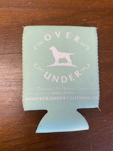 Over Under Mint Can Cooler/Koozie at 6Whiskey
