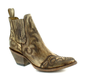 Old Gringo Shay Short Boot in Metallic Gold at 6Whiskey