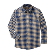 Load image into Gallery viewer, Madison Creek Outfitters green river long sleeve shirt wheat plaid MCO 6whiskey six whisky