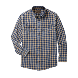 Madison Creek Outfitters green river long sleeve shirt wheat plaid MCO 6whiskey six whisky