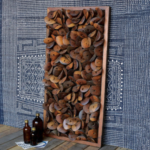 Shoe Parts Wood Wall Art 6Whiskey
