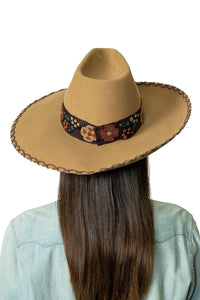 DDR Felt Showman Hat in French tan FA794 Fall Cody Collection at 6Whiskey six whisky