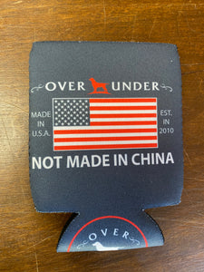 Over Under Not Made In China  Can Cooler/Koozie at 6Whiskey