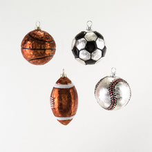 Load image into Gallery viewer, Sports Glass Ornaments