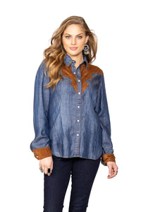 DDR Denim Dirt Track Work Shirt 6Whiskey six whisky T3315 Matagorda I go back fall 2020