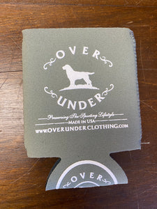 Over Under Grey Can Cooler/Koozie at 6Whiskey