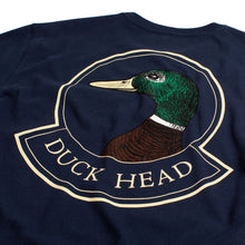 Load image into Gallery viewer, Duck Head Long Sleeve t-shirt badge logo 6whiskey six whisky 6 whiskey