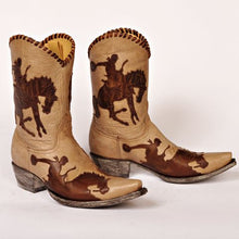 Load image into Gallery viewer, Old Gringo Cowboy Up Brown Boot 6Whiskey