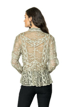 Load image into Gallery viewer, DDR Long Sleeve Lace Luciana Top in String at 6Whiskey six whisky Maria Spring 2021 T3420