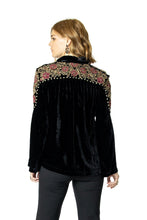 Load image into Gallery viewer, Double D Ranch Ketch a Wildflower Top in Black 6Whiskey T3384 Nashville Fall 2020