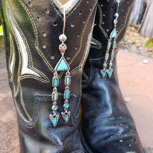Peyote Bird Designs Nevada Turquoise Baby Marfa