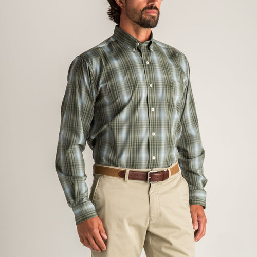 Duck Head Fall 2020 Performance Polo in Sedona Sage 6Whiskey