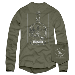 After Hunt Over Under Long Sleeve T-shirt in army green 6Whiskey Men's
