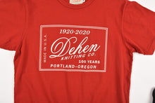 Load image into Gallery viewer, Dehen 100 Year Anniversary Label Tee 6 Whiskey six whisky Made in USA