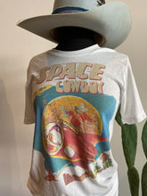 Load image into Gallery viewer, Space Cowboy White Graphic T-Shirt 6Whiskey Fall 2020