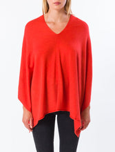 Load image into Gallery viewer, Scarlet Red Poncho