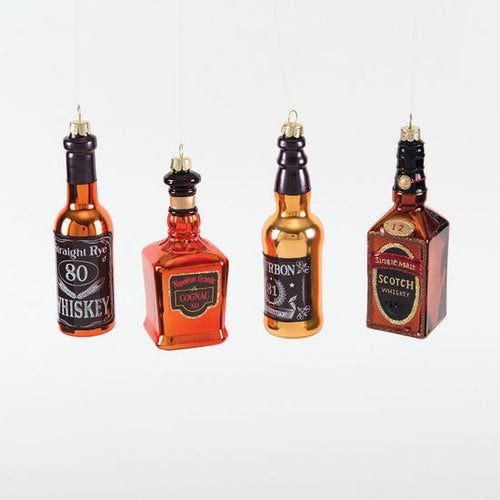 Whiskey Bottle Ornaments