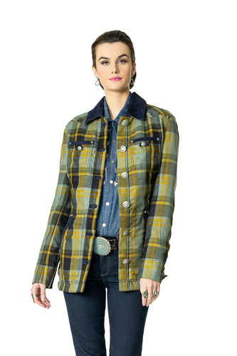 DDR Rodgers Plaid Jacket Coat 6Whiskey six whisky Taos Holiday Collection C2763