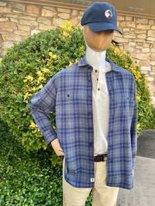 Duck Head Westover Quilted Button Down Shirt 6Whiskey Blue Plaid Fall 2020