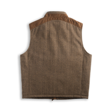 Load image into Gallery viewer, Madison Creek Outfitters Vest overland Tan herringbone MCO 6whiskey 6 whiskey six whisky