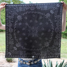 Load image into Gallery viewer, Scarf ~ Black Cacti ~ Shorty