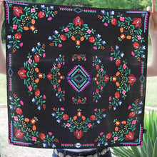 Load image into Gallery viewer, Scarf ~ Black Fiesta
