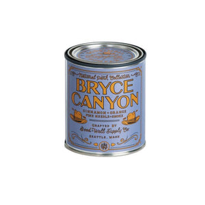 Bryce Canyon candle National Park Collection 6 whiskey good well supply all natural six whisky wood wick soy tin